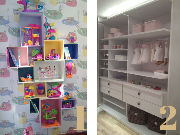 (Fonte:natalianoleto.com.br; 1- Casa Cor São Paulo 2013; 2- Casa Cor Brasília 2012. Fofuras do mundo infantil!!!)
