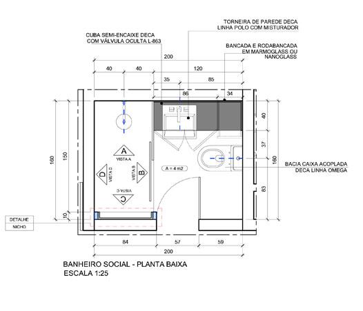 Natália Noleto  Arquitetura e Interiores -> Altura Ideal Para Cuba Banheiro