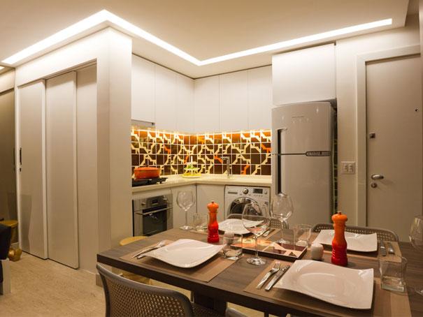 decoracao de apartamentos pequenos de baixo custo:apartamento pequeno