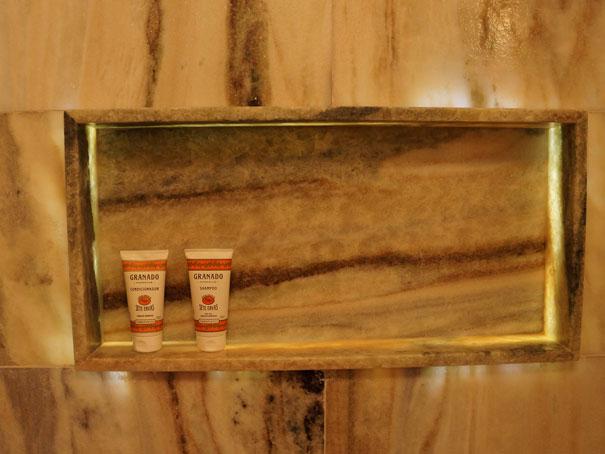 Natália Noleto  Arquitetura e Interiores -> Acabamento Nicho Box Banheiro