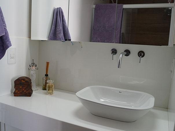 Natália Noleto  Arquitetura e Interiores -> Nicho Banheiro Parede Estrutural